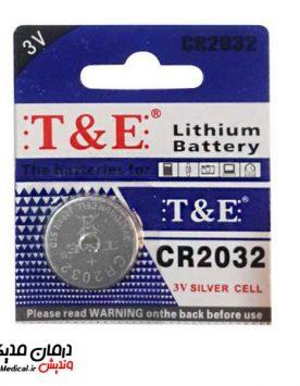 باتری سکه ای تی اند ای مدل 2032